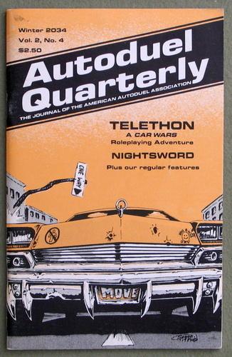 Autoduel Quarterly: Vol. 2, No. 4 (Car Wars)