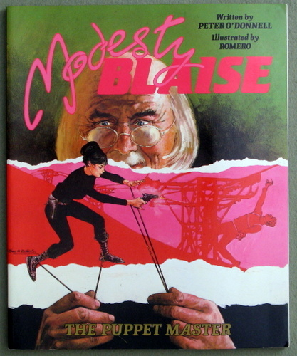 Modesty Blaise: The Puppet Master, Peter O'Donnell & Romero