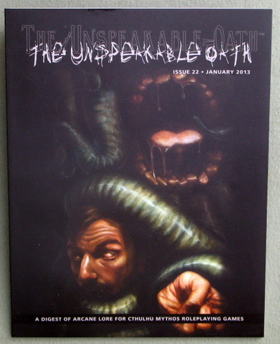 The Unspeakable Oath Issue 22