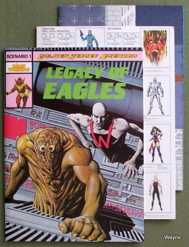 Legacy of Eagles (A Golden Heroes Scenario 1), Simon Burley