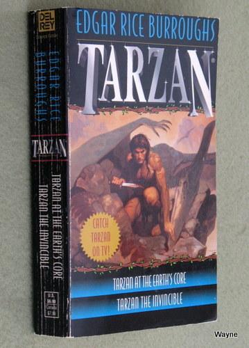 Tarzan 2-in-1 (Tarzan at the Earth's Core/Tarzan the Invincible), Edgar Rice Burroughs