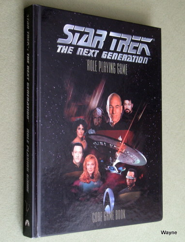 Star Trek: The Next Generation Role Playing Game - Core Game Book
