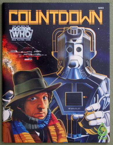 Countdown (Doctor Who RPG), Ray Winninger