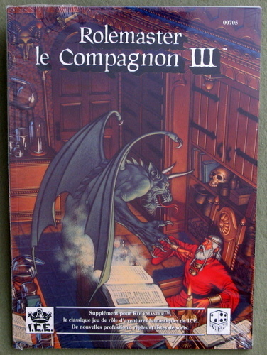 Rolemaster, le Compagnon III (Rolemaster: French Edition)