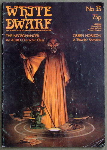 White Dwarf Magazine, Issue 35 - READING COPY