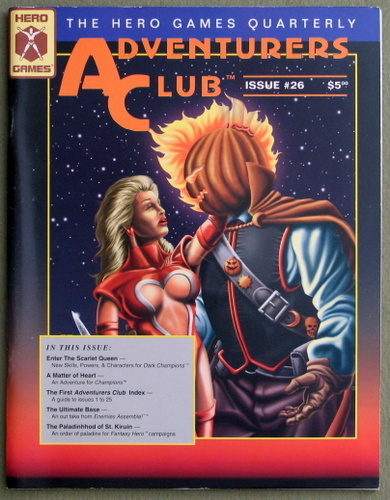 Adventurers Club: The Hero Games Quarterly #26 (Spring 1995)