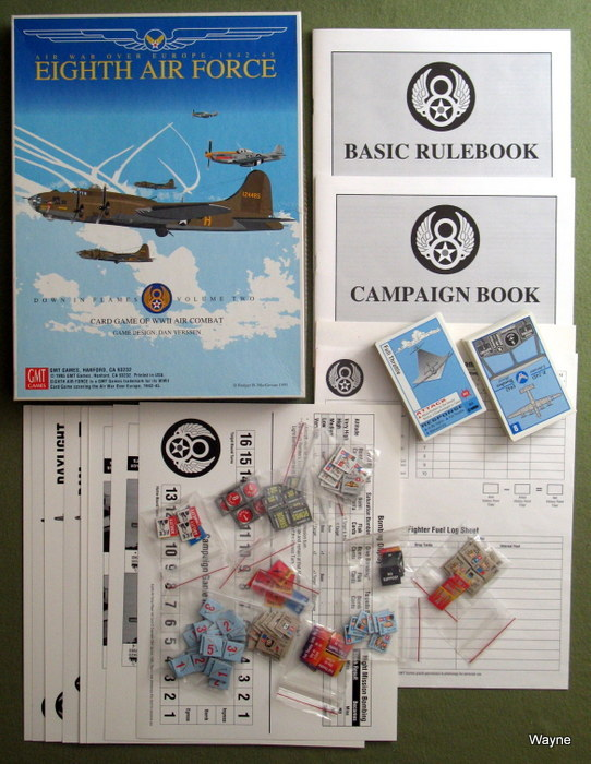 Eighth Air Force: Air War Over Europe, 1942-45 (Card Game of WWII Combat)