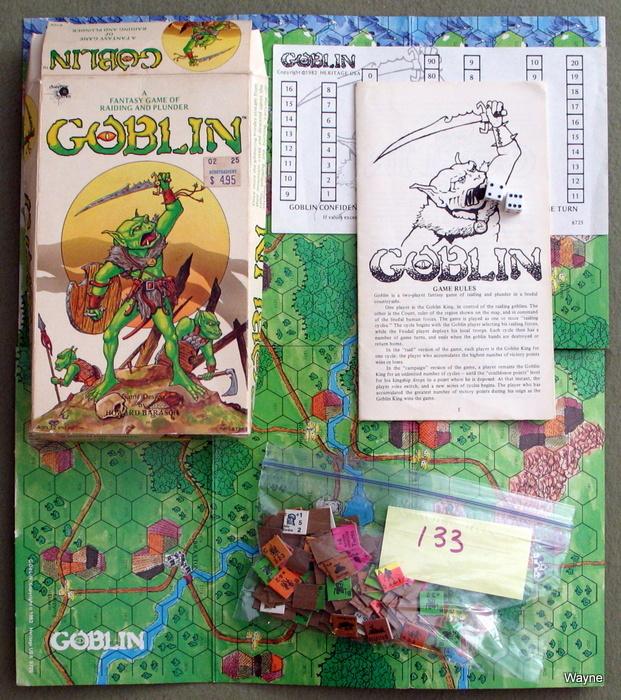 Goblin: A Fantasy Game of Raiding and Plunder - PLAY SET, Howard Barasch