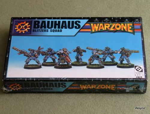 Warzone: Bauhaus Blitzers Squad