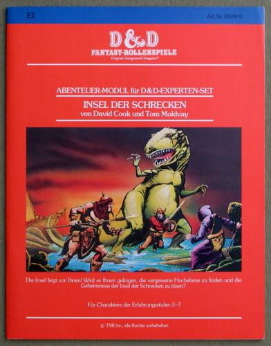 Insel der Schrecken: Modul E1 (D&D Fantasy-Rollenspiele)