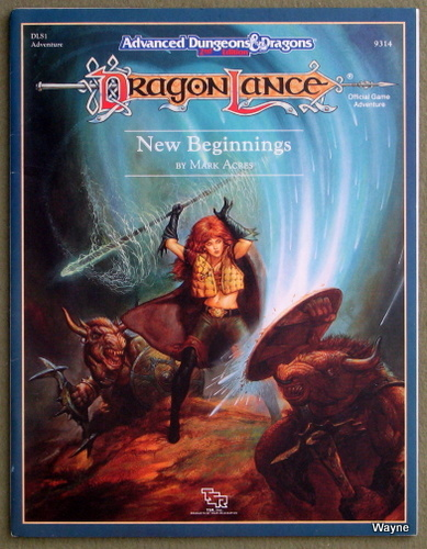 New Beginnings (Advanced Dungeons and Dragons: Dragonlance module DLS1), Mark Acres