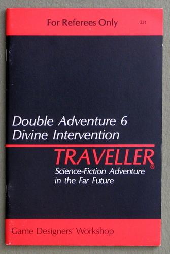 Traveller Double Adventure 6: Divine Intervention / Night of Conquest
