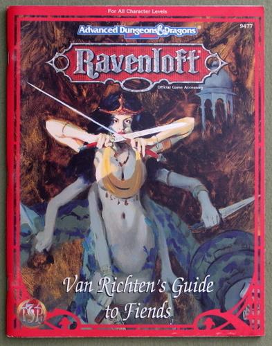 Van Richten's Guide to Fiends (Advanced Dungeons & Dragons: Ravenloft), Teeuwynn Woodruff
