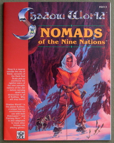 Nomads of the Nine Nations (Rolemaster / Shadow World), Brian E. Potter