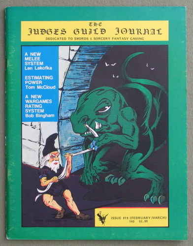 Judges Guild Journal, Issue 19 (Feb/March 1980)