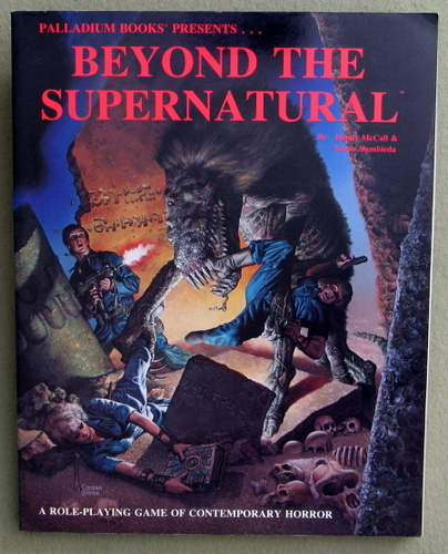 Beyond the Supernatural, Randy McCall & Kevin Siembieda