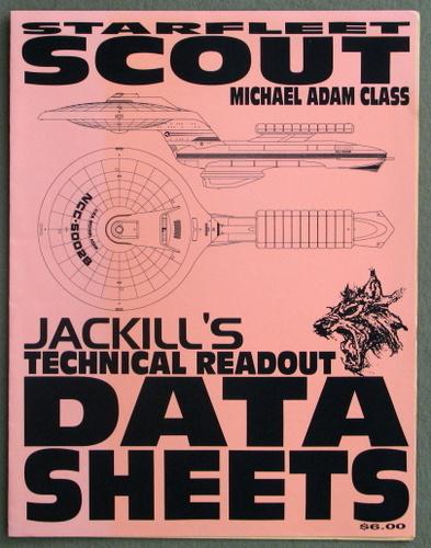 Starfleet Michael Adam Class Scout (Jackill's Technical Readout Data Sheets)