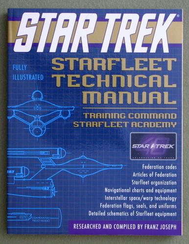 Star Trek Starfleet Technical Manual: Training Command Starfleet Academy, Franz Joseph