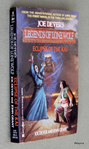 Eclipse of the Kai (Legends of Lone Wolf), Joe Dever & John Grant