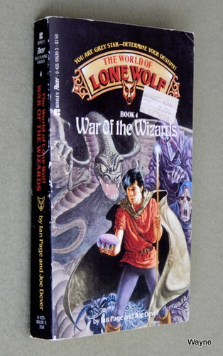 War of the Wizards (The World of Lone Wolf, Book 4), Ian Page & Joe Dever