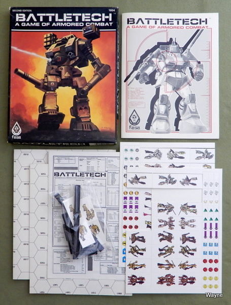 Battletech: A Game of Armored Combat (2nd Edition)