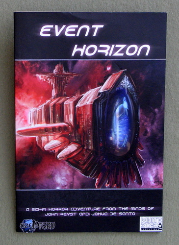 Event Horizon: A White Star Sci-Fi Horror Adventure, Johua De Santo & John Reyst