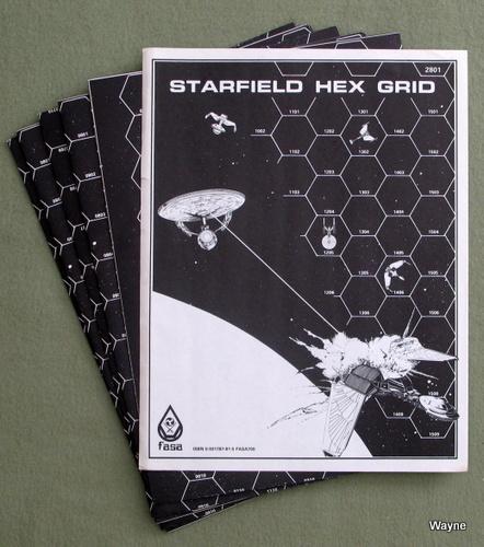 Star Trek: Starfield Starship Combat Hex Grid