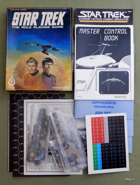 Star Trek: The Role Playing Game (Deluxe Game: Second Edition) - PLAY SET