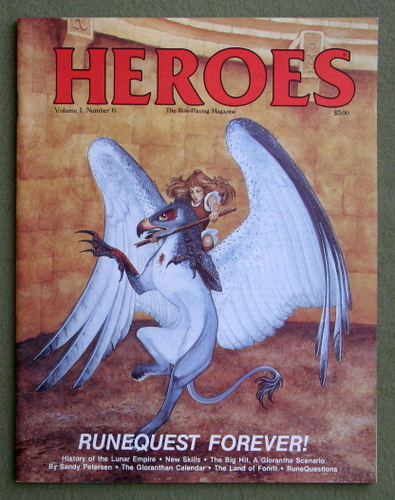 HEROES Role-Playing Magazine: Volume 1, Number 6