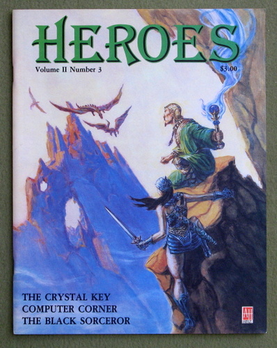 HEROES Role-Playing Magazine: Volume 2, Number 3