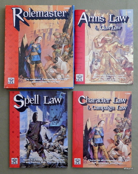Rolemaster (2nd Edition, Revised)