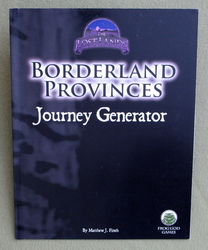 Borderland Provinces: Journey Generator, Matthew J. Finch