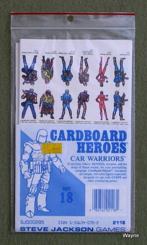 Cardboard Heroes, Set 18: Car Warriors, Denis Loubet