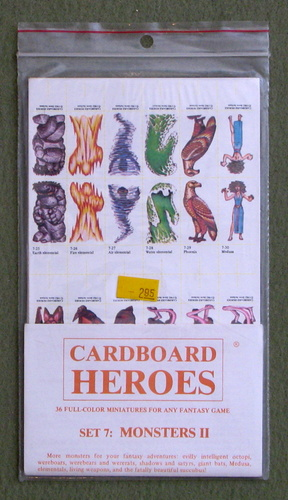 Cardboard Heroes, Set 7: Monsters II