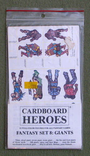 Cardboard Heroes, Set 8: Giants