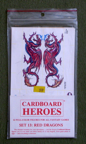 Cardboard Heroes, Set 13: Red Dragons