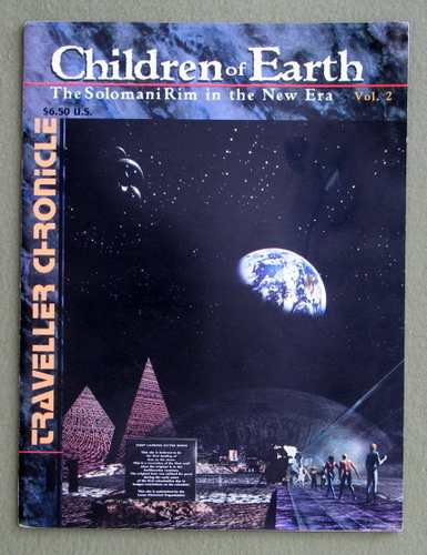 Traveller Chronicle, Issue 11: Children of Earth - The Solomani Rim in the New Era, Vol. 2