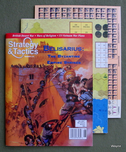 Strategy & Tactics Magazine #210: with Belisarius Board Game