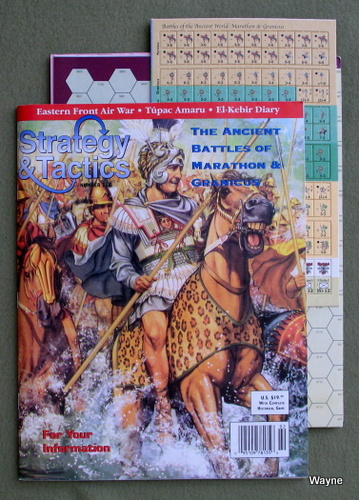 Strategy & Tactics Magazine #214, with Marathon & Granicus, Board Game