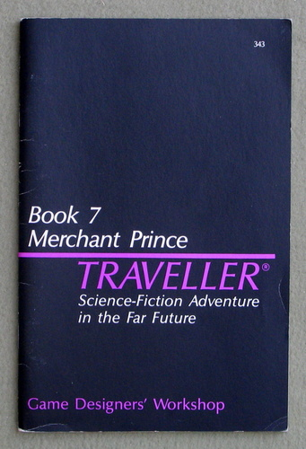 Traveller Book 7: Merchant Prince, Marc Miller & J. Andrew Keith