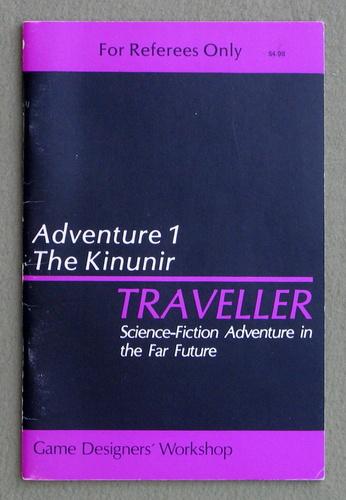 Traveller Adventure 1: Kinunir, Marc Miller