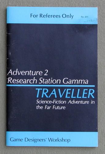 Traveller Adventure 2: Research Station Gamma, Marc Miller