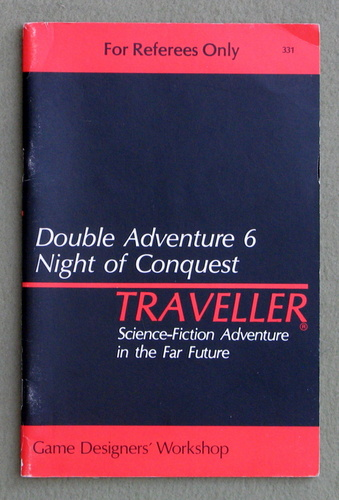 Traveller Double Adventure 6: Divine Intervention / Night of Conquest, Lawrence Schick & William H. Keith, Jr. & J. Andrew Keith