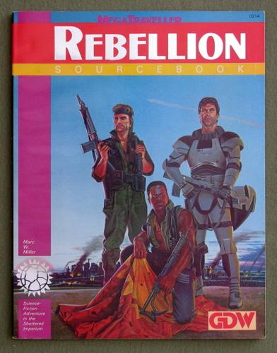 MegaTraveller: Rebellion Sourcebook, Marc W. Miller