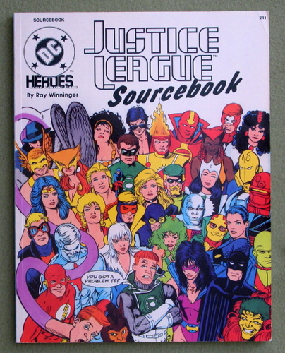 Justice League Sourcebook (DC Heroes role-playing game), Ray Winninger