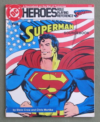 Superman Sourcebook (DC Heroes RPG) - PLAY COPY, Steve Crow & Chris Mortika
