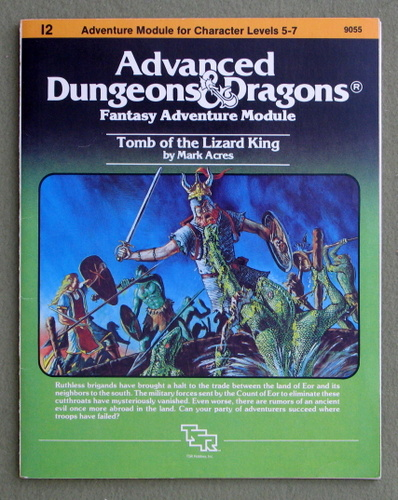 Tomb of the Lizard King (Advanced Dungeons & Dragons/AD&D Module I2), Mark Acres