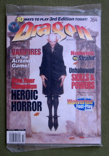 Dragon Magazine, Issue 264