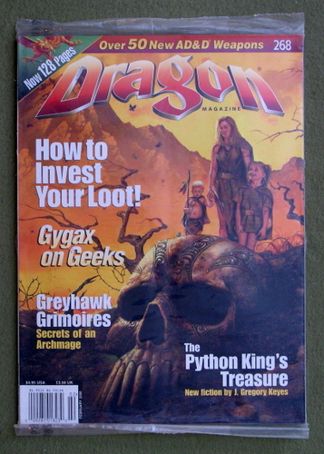 Dragon Magazine, Issue 268