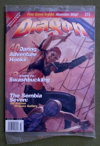 Dragon Magazine, Issue 273